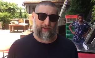 אסף גרניט מגיב על הפרידה מאנה ארונוב  (צילום: צינו פפראצי, מאקו)