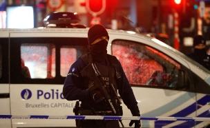חייל חמוש בבריסל (צילום: רויטרס)