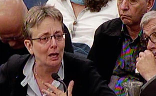 אמו של הדר גולדין בדיון בכנסת