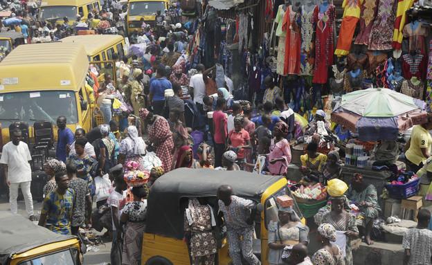 הרחוב הראשי של לאגוס ניגריה (צילום: Sakchai Lalit   AP)