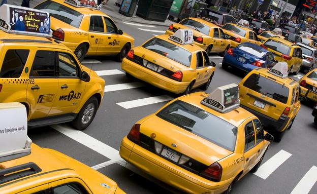 מונית בניו יורק (צילום: Shutterstock)