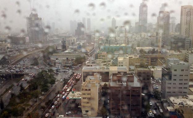גשם (צילום: עינר ברזילי)