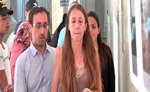מעצרה של מנדלב לפני חודש (צילום: חדשות 2)