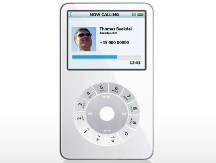 הדמיית אייפון מבוסס אייפוד מ-2006