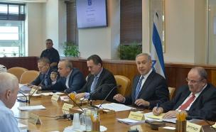 """ישיבת ממשלה (ארכיון) (צילום: קובי גדעון / לע""""מ)"""
