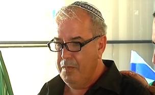 """דוד מלכא אביה של הדס מלכא ז""""ל (צילום: חדשות 2)"""