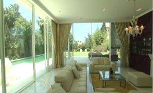 כך נראה הבית היקר בישראל (צילום: חדשות 2)