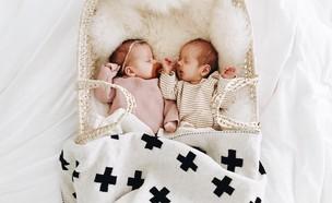 עיצוב בסיסי אך ורסטילי לתאומים שיגדלו בו (צילום: Whitney Johnson ajo)