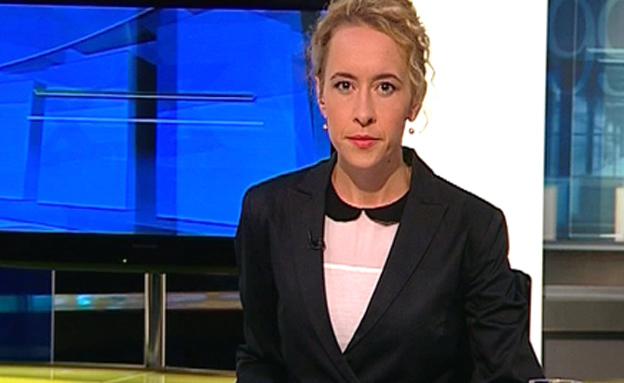 יאנה סוריאדנה מגישת עולם פוליטי (צילום: חדשות 2)