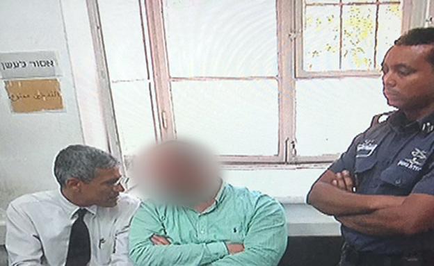 בן דוד בבית המשפט (צילום: חדשות 2)