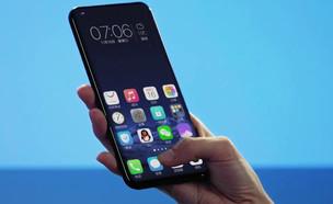 סמארטפון עם מסך סורק טביעות אצבע (צילום: Vivo Global, YouTube)