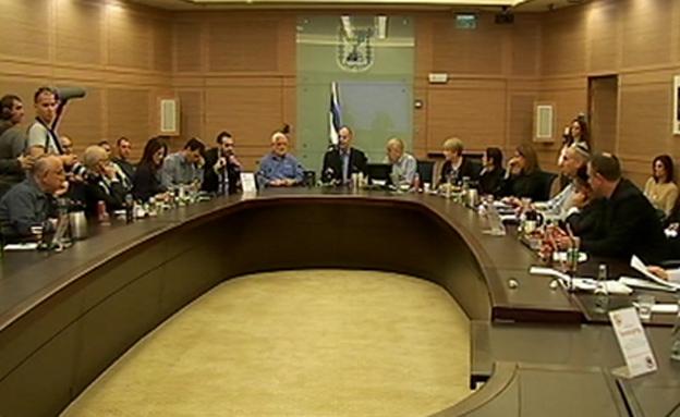ועדת החוץ והביטחון בכנסת (צילום: חדשות 2)