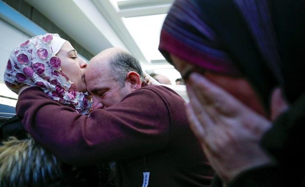 "פליטים סורים בארה""ב, ארכיון (צילום: רויטרס)"