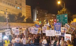 """""""החלטות שמחרימות את העם היהודי"""" (צילום: יולי גורן, דוברת התנועה הרפורמית)"""