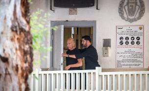 אולמרט יבקש לבטל את מעמדו כאסיר ברישיון (צילום: flash 90\hadas parush)