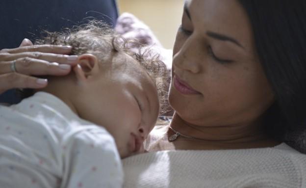 אמא ותינוק, אילוסטרציה (צילום: יחסי ציבור)