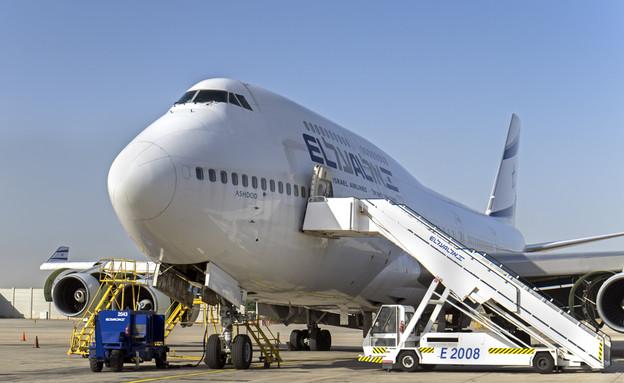 מטוס של אל על (צילום: Lerner Vadim, ShutterStock)
