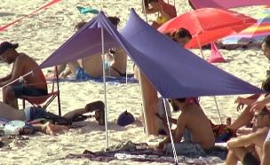 חם גם בצל - הלהיט החדש של חופי הים (צילום: חדשות 2)