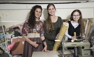 מוריה גלבוע, שרה פיש ותמר בקשי (צילום: רמי זרנגר, מגזין נשים teens)