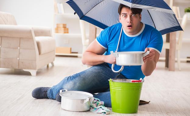דירה מוצפת (אילוסטרציה: Elnur, Shutterstock)