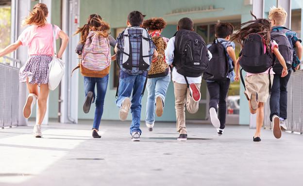 אילוסטרציה- תלמידים (צילום: Monkey Business Images, Shutterstock)