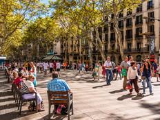 שדרות לה רמבלה, ברצלונה (צילום: Filipe Frazao, ShutterStock)