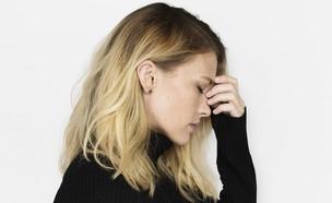 אישה לחוצה (צילום: Rawpixel.com Shutterstock, מעריב לנוער)