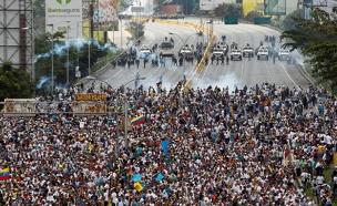 מאות אלפי מפגינים נגד הנשיא, ארכיון (צילום: רויטרס)