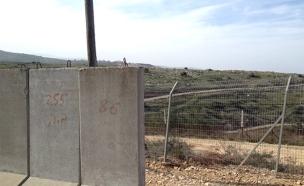 בטונדות בגבול הצפון (צילום: חדשות 2)