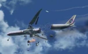 אבודים - מטוס מתרסק (צילום: lost.wikia)