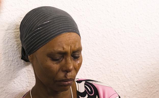 אמו של אברה מנגיסטו הנעדר בעזה (צילום: חדשות 2)