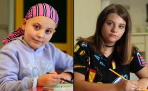 פרויקט הילדים שהחלימו מסרטן משחזרים תמונות (צילום: חדשות 2)