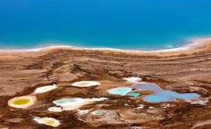 בולען בים המלח (צילום: daniela kalman, ShutterStock)