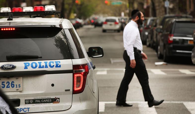 יהודי חסידי בניו יורק  (צילום: Spencer Platt, GettyImages IL)