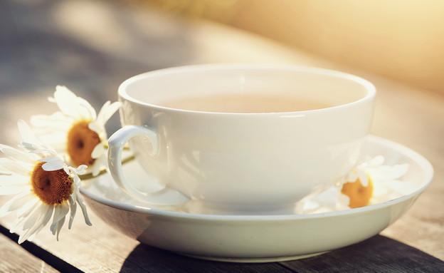 תה קמומיל (צילום: Elya Vatel, Shutterstock)