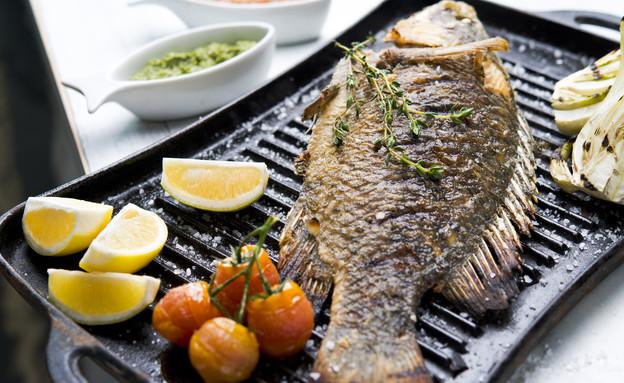 דג בגריל, שוק דגים (צילום: רוני בלחסן,  יחסי ציבור )