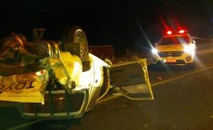 """כך נראתה זירת התאונה (צילום: דוברות מד""""א)"""