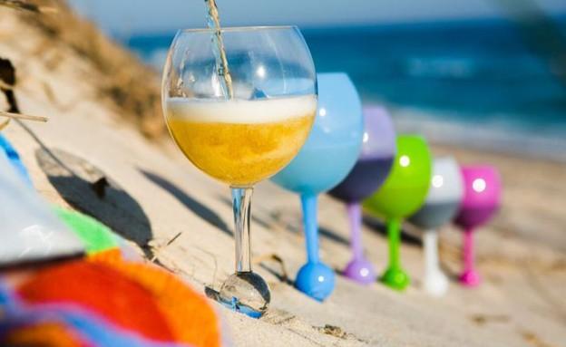 חמישייה 18.7, כוסות לחוף (צילום: יחסי ציבור)