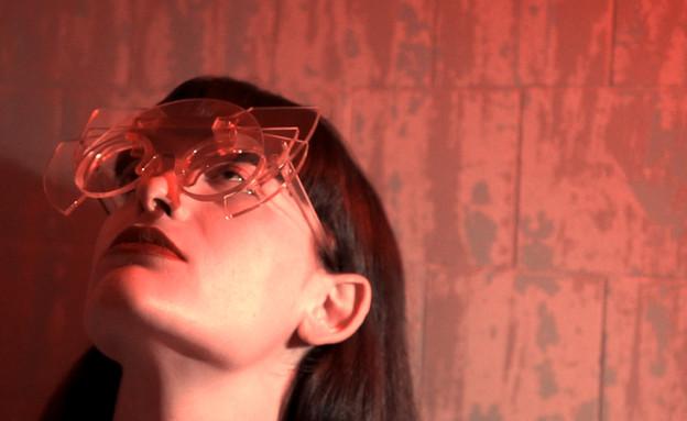 תעודת בגרות - משקפיים לעדשות ראייה עבות בעיצוב תמר כנפי, שנקר (צילום:  יחצ שנקר)
