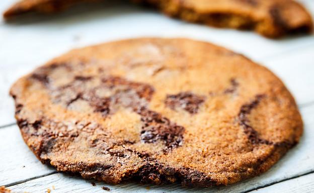 עוגיית שוקולד צ'יפס - דקה ופריכה (צילום: אמיר מנחם, אוכל טוב)