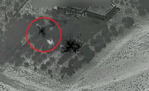 תיעוד ראשון מהלחימה האמריקנית בסוריה (צילום: יחסי ציבור)