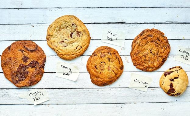 עוגיות שוקולד צ'יפס מכל הסוגים (צילום: אמיר מנחם, אוכל טוב)