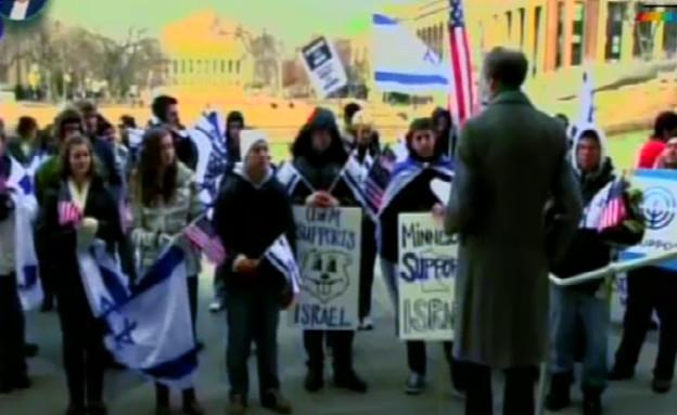 המאבק המשפטי ב- BDS עם עו