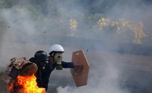הפגנות בונצואלה (צילום: רויטרס)