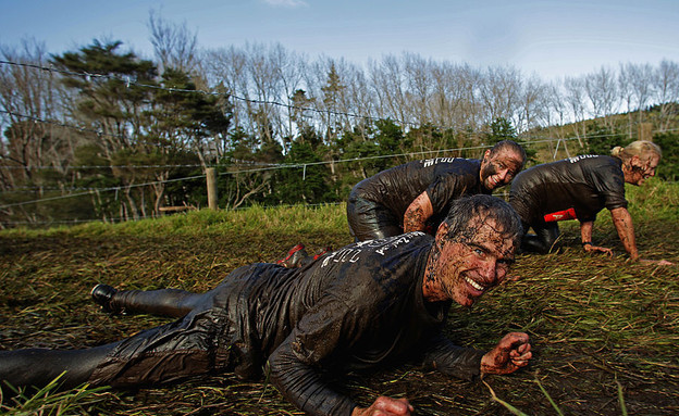 תחרות האיש והאישה הקשוחים בניו זילנד (צילום: Phil Walter, GettyImages IL)
