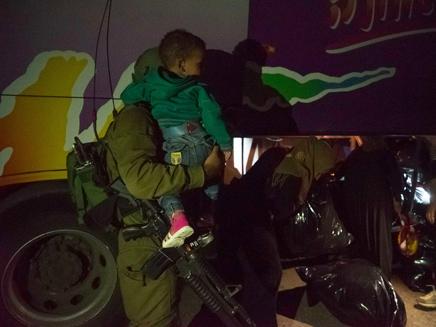 4000 טופלו בישראל, רבע מהם ילדים (צילום: דובר צהל)