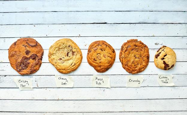 עוגיית שוקולד צ'יפס קראנצ'ית - כל הסוגים (צילום: אמיר מנחם, אוכל טוב)