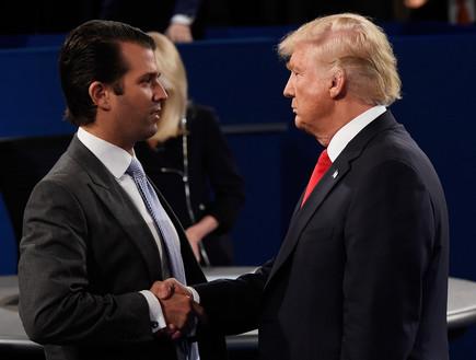 טראמפ ואבא