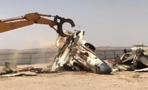 צפו: גריטת מטוסי הפאנטום ההיסטוריים (צילום: אביחי חזן)