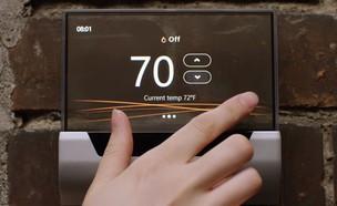 תרמוסטט חכם מדגם Glas של מיקרוסופט (צילום: מיקרוסופט, יוטיוב)